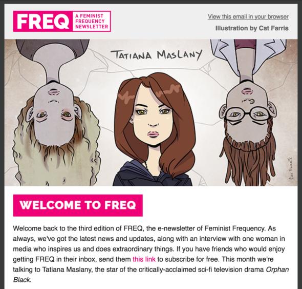FREQ #3 - Tatiana Maslany