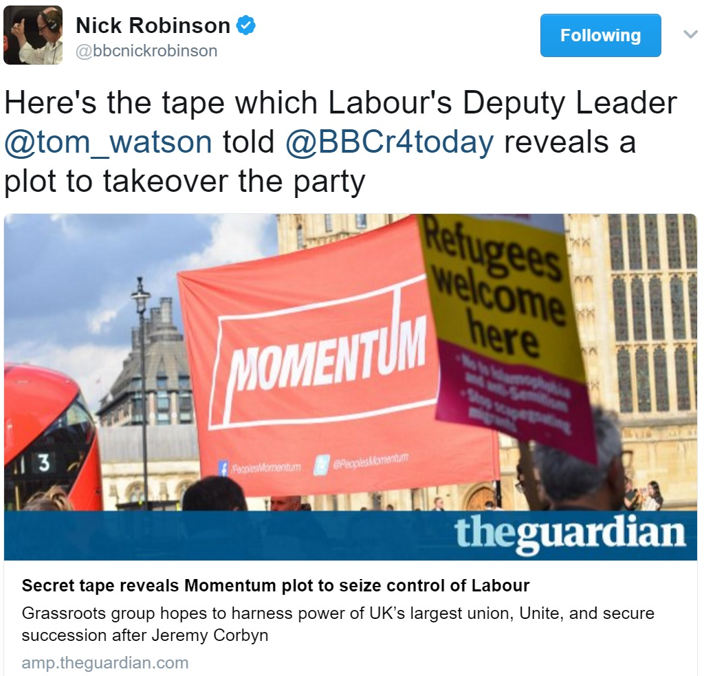 @Tom_Watson embarrasses himself re 'left takeover' – here's the right'smirror-plan