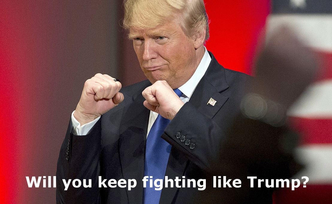 trump fight
